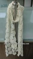 Wholesale Winter free beaded crochet striped scarf pattern
