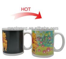 Shenzhen manufacturer high quality ceramic photo design magic mug