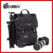 Waterproof Dslr Canvas backpack bag tripod bag waterproof backpack camera bag