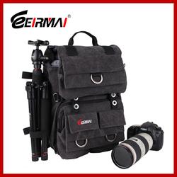 Waterproof Dslr Canvas backpack bag tripod bag waterproof backpack camera bag