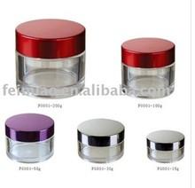 Round PETG cosmetic jar