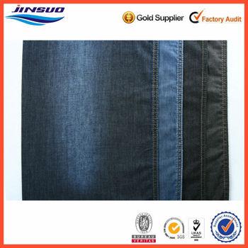 """100% Cotton Color Denim Fabric Light Blue 4 oz 32s*32s 59/61"""" Wide"""