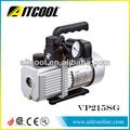 de alta calidad de paleta rotativa de dos etapas de vacío de la bomba con la válvula de solenoide y vp215sg de calibre