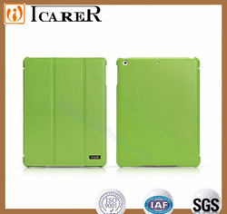 Top quality three fold cheap cover for ipad air