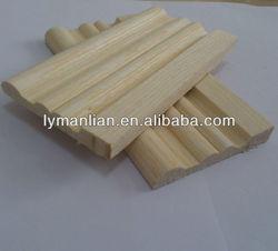 recon teak wood wall decorative moulding