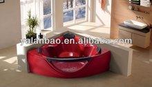 Bathroom equipment elegant spa whirlpool price bathtub G657 sector bathtub with massage function