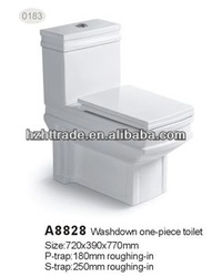 Siphonic Ceramic Sanitary Ware Cheap one piece toilet