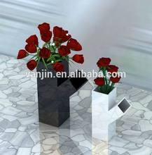 Decoratived Acrylic Floor Love Rose Wedding Vase Centerpieces7011311213