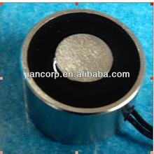 round holding permanent electromagnet 12VDC 24VDC 220VAC