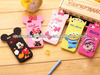 Orignal factory produce silicone mobile phone case for Disney