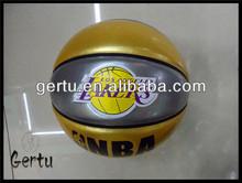 2015 hot sales TPU leather glue club basketball