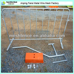 New product hot -dipped galvanised flat feet barrier traffic barrier supplier