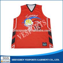 Custom Made Reversible Basketball Uniforms