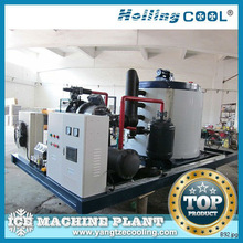 20Ton/day chicken slaughterhouse sea water flake ice machine for sales
