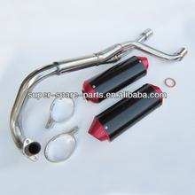 hot selling CNC universal twins motorcycle universal mufflers
