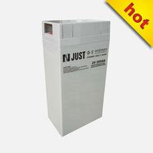2v 200ah rechargeable solar batteries