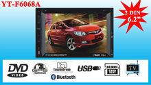 ETONE car stereo with USB/Bluetooth YT-F6068A