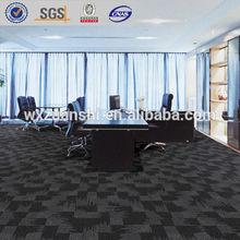 100% Nylon carpet tiles, Office rug, Rubber back carpet tiles