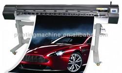 Eco solvent dx5 head 1440dpi inkjet canvas printing machine