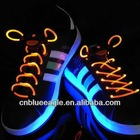 Luminous flashing LED shoelaces in darkness kids party led shoelaces