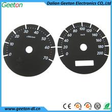 China 2D Digital Plastic Speedometer Auto Accessories
