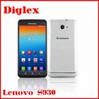 "Lenovo S930 6"" HD IPS MTK6582 Quad Core Dual Sim 1G RAM 8G ROM 3000mAh Unlocked Smartphone Mobile Phone"