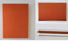 Non-woven metallic pleated blinds shades dim out fire flame retardant UV resistant fabric