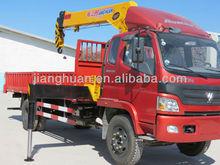 FOTON truck mounted 7ton mobile crane for sale
