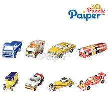 Paiper 3d mini car puzzle diy kit