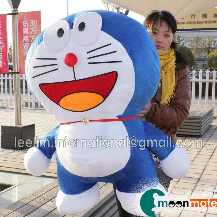 Gigante doraemon juguete doraemon de peluche de juguete de la felpa de doraemon juguete doraemon