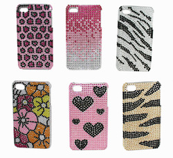 bling rhinestone cover for mobile phone