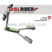 SLRIDER SR-401, The First 2 in 1 Sliding & Kick Scooter in the World