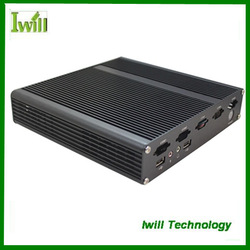 Iwill X4 pure aluminum mini itx industrial computer case