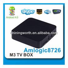 google tv box M3 Android 4.0 HD Smart TV Box