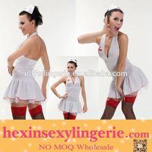 Wholesalel especial cosplay traje da enfermeira látex