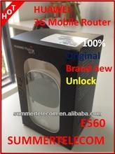 Original Brand new Unlock Huawei 3G wireless mobile Router E560 silver HSDPA UMTS GSM Pocket wifi mobile hotspot
