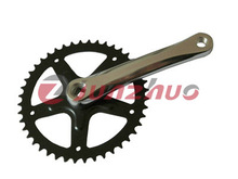 made in china cheap single speed chainwheel and crank for sale