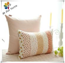 Cheap Wholesale Cotton Plaid Cushion Of Stripe Pattern