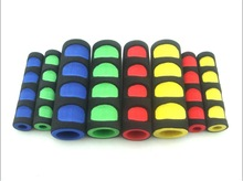 Hot sell rubber grips for dumbbell/ professional eco-friendly rubber handles for gym equipment