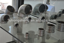 Good Quality Malleable Cast Iron / Stainless Steel Pipe Fitting