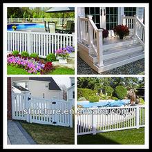plastic railing fences for garden