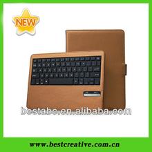 2013 Newest Ultra-thin Detachable Bluetooth Keyboard Case for iPad Air