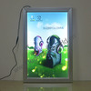 advertising frame led light display rack poster holder poster board