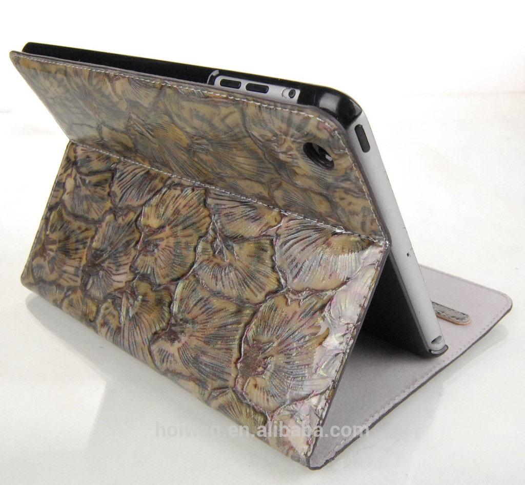 Ipad 130005 High quality leather i pad mini case