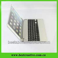 Slim holder Bluetooth keyboard leather case for iPad 5