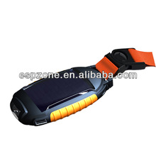 China factory supply unique design rubber &ABS case solar led camp lantern solar charger mobile charger