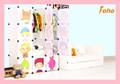 niños muebles de dormitorio de dibujos animados con las puertas en color blanco