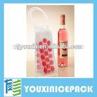 Plastic Wine Bottle Cooler Bags For Chilling