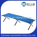 De aluminio plegable camping cama/cuna