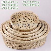 Wholesale wicker pet basket,wicker basket for dogs, wicker dog basket